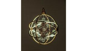 Lámpara de techo colgante LED Universum cobre