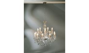Lámpara techo Gioiello Crystal Clear
