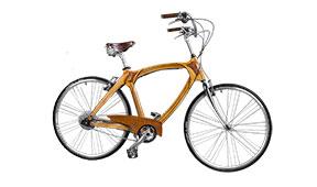 Bicicleta de madera Vintage Rotterdam