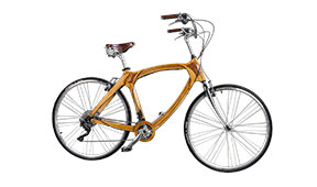 Bicicleta de madera Vintage Amsterdam