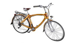 Bicicleta de madera Vintage Groningen