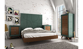 Dormitorio Vintage Isis - Cabeceros y Camas de Madera - Muebles Vintage