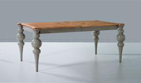 Mesa de comedor extensible Vintage Toir