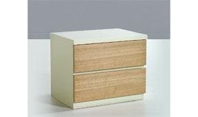 Mesita de noche moderna Nadia - Mesas de Noche de Diseño - Muebles de Diseño