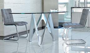 Mesa de comedor ovalada Moderna Gerin