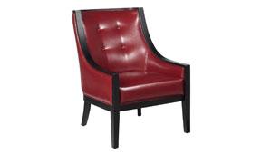 Butaca Vintage Cyrano Piel Roja - Butacas Vintage - Muebles Vintage