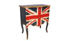 Mesa auxiliar Fontenoy Lacada Britanica - Cómodas Vintage - Muebles Vintage