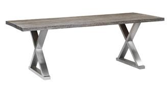 Mesa Comedor Vintage de Acero