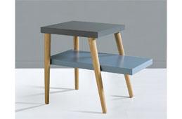 mueble de diseo mesa auxiliar nrdica kosi
