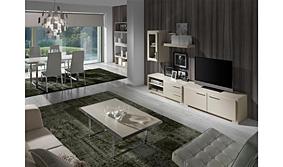 Salón moderno volga blanco II