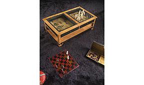 Mesa de centro clásica Poker