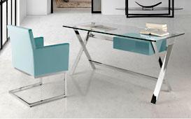 Mesa de escritorio moderna Sojon - Mesas de Despacho y Escritorio de Diseño - Muebles de Diseño