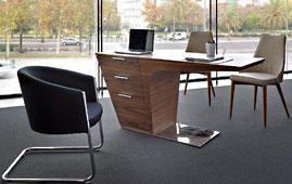 Mesa de escritorio moderna Sayano