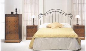 Dormitorio forja Adharat