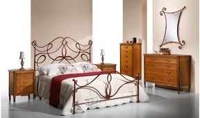 Dormitorio forja Wanda
