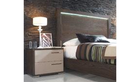 Mesilla de noche moderna Nossan - Mesas de Noche de Diseño - Muebles de Diseño