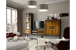 Salón vintage provenzal miel Basilea