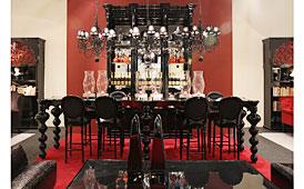 Mesa alta bar vintage Glamour