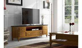 Mueble Tv vintage provenzal Fontana II