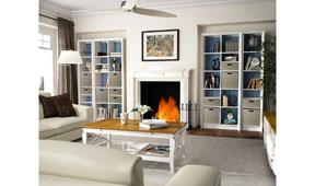 Salón vintage provenzal Mediterráneo