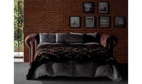Sofá chester cama vintage Ford