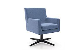 Sillón giratorio Nolita - Sillones de Despacho de Diseño - Muebles de Diseño