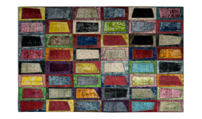 Alfombra  patchwork Windows