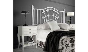 Dormitorio provenzal blanco Basilea