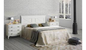 Dormitorio vintage provenzal Fontana