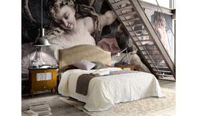 Dormitorio vintage provenzal Volga