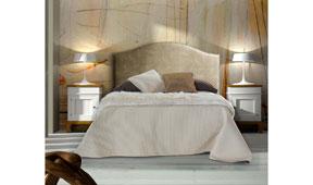 Dormitorio vintage provenzal Tabaco