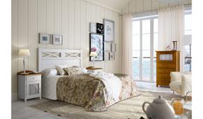 Dormitorio vintage provenzal Oria