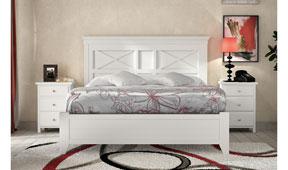 Dormitorio vintage provenzal tosca Oria
