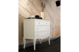 Comoda colonial lino Basilea - Cómodas Vintage - Muebles Vintage