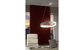 Lámpara de techo colgante Cronos blanco