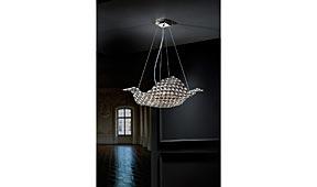 Lámpara de techo Saten grande