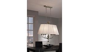 Lámpara de techo Artemedis ovalada