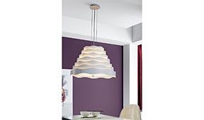 Lámpara de techo colgante Boira blanco