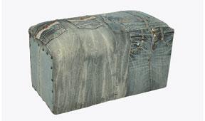 Banqueta vintage Jeans