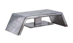 Mesa de centro industrial Tray