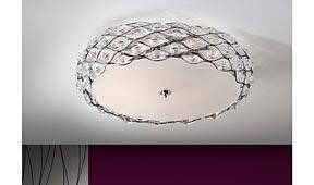Plafón cromo redondo Sibila - Apliques y Plafones - Iluminación