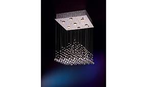 Lámpara de techo colgante Estratos