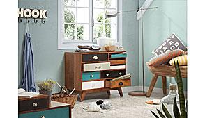 Cómoda Babalou multicolor - Cómodas Vintage - Muebles Vintage