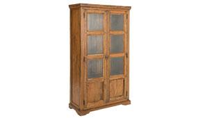 Vitrina grande vintage Palau - Vitrinas Coloniales y Rústicas - Muebles Coloniales y Muebles Rústicos
