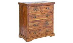 Cómoda vintage Palau - Cómodas Coloniales y Rústicas - Muebles Coloniales y Muebles Rústicos