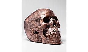 Calabera decorativa Copper Antique - Figuras decorativas - Objetos de Decoración
