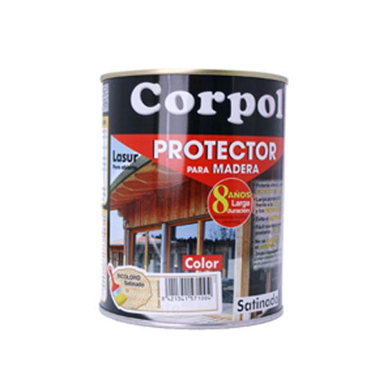 protector para madera exterior color satinado 5 l no