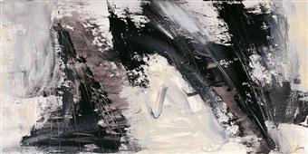 Cuadro canvas abstracto concetto dinamico