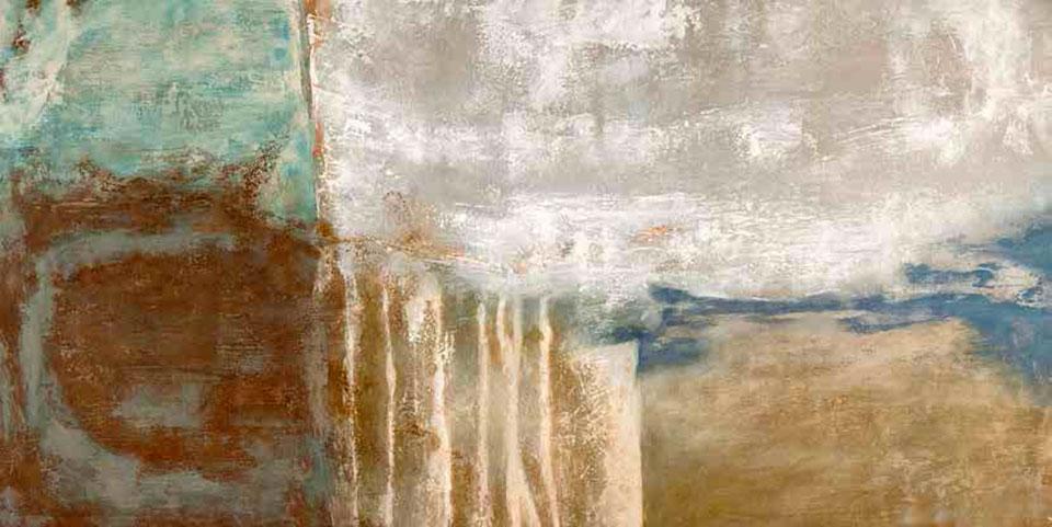 Cuadro canvas abstracto senza tempo