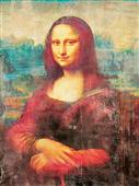 Cuadro canvas museo mona lisa dos punto cero